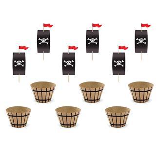 Muffins kit Pirat 6 pack
