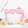Folieballong Party Rosa