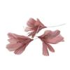 Fjäder blomma gammelrosa 12pack