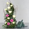 Oasis block till blommor med handtag
