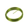 Metalltråd till dekoration Grön, 5 m.