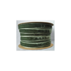 Band i sammet olivgrön 10 mm, metervara