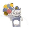 Godispåsar barnkalas katt blå, 6-pack