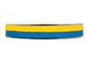 Blå/gult band till studenten, metervara