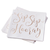Servetter SipSip Hooray, 16-pack