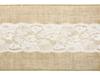 Bordslöpare juteväv med spets