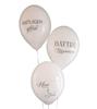 Ballonger till Bröllop med svensk text , 6-pack