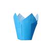 Muffinsformar Tulip blå, 36-pack