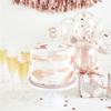 Tårtdekor 18 år i rosé