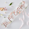 Ordensband it´s my birthday ditsy floral