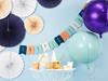 Folieballong Mintgrön rund