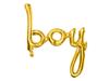 Folieballong boy guld