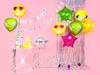 Ballong Hello Holografisk