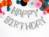 "Ballonggirlang ""Happy Birthday"" Silver"