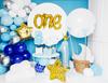 """Folieballong """"One"""" Guld"""