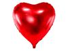 Folieballong Stort Hjärta Röd, 72 cm.