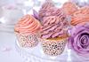 Muffinsformar Vit spetsmönster, 10-pack