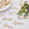"Guldkonfetti ""love"""
