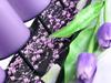 Pärlgirlang Lavendel