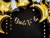"Girlang ""Bride to be"" guld DIY"