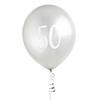 Ballonger silver 50år, 5st