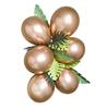 Ballonggirlang guld med palmblad