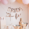 Vimpel Bride to be roseguld