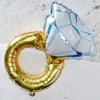 Folieballong ring/diamantring