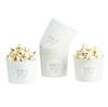 "Muffinsform babyshower ""Ready to pop"" mint/grå, 10-pack"