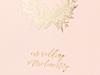Gästbok rosa