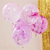 """Ballong """"Färga Själv"""" Rosa, 5-pack"""