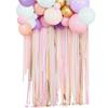 Ballonggirlang Med Draperi Pastell
