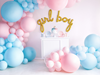 Ballong rosa pastell 60 cm.