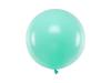 Ballong mintgrön pastell 60 cm.