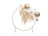 Ballong glansig guld, 60 cm.