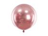 Ballong glansig rosé, 60 cm.