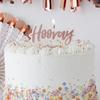 Tårtljus Hooray Roséguld