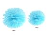 Pom poms Babyblå, 1 st.