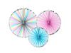 Dekorationsrosetter Unicorn/Pastell, 3-pack