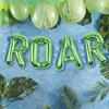 """Folieballonggirlang """"ROAR"""" Dinosaurie"""