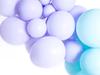 Ballonger pastell matt ljuslila