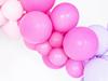 Ballonger pastell matt cerise, 10-pack