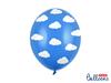 Ballonger Blåa med Moln, 10-pack
