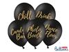 Ballonger Svarta till Fest & bröllop, 5-pack