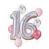 Ballongbukett 16 år