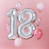 Ballongbukett 18 år