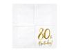 Servetter 80år, 20-pack