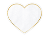 Servetter Vita hjärtan, 20-pack