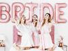 "Ordensband  ""Team Bride"" vit/rosé"