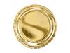 Tallrik guld 23 cm, 6-pack